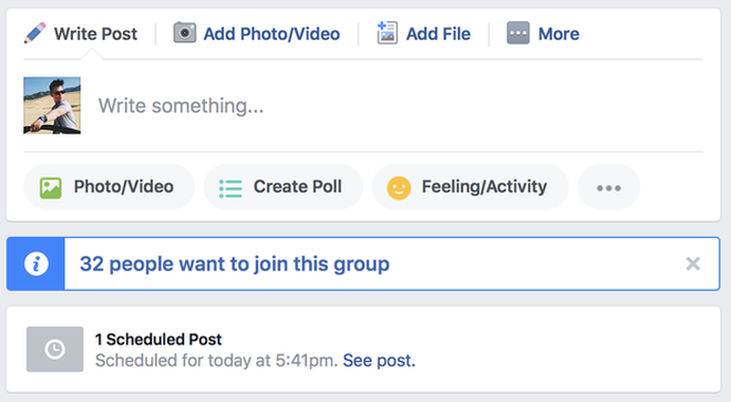 hẹn giờ facebook